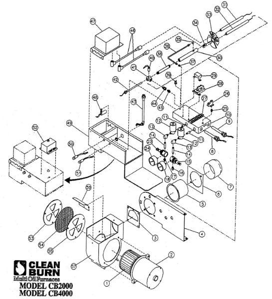 Parts Breakdown for CB-2000 & CB-4000 Burners (Cleanburn - Model ...