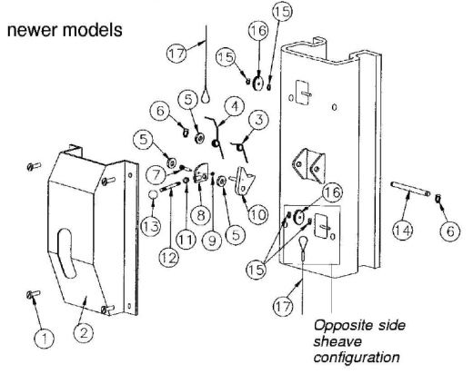 parts breakdown for rotary model spoa7 and spoa9 lock release (svi old phone parts diagram rotary phone parts diagram #17